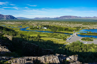 Tingvellir National Park visitor center Grundarfjordur,  South,  Iceland, Europe