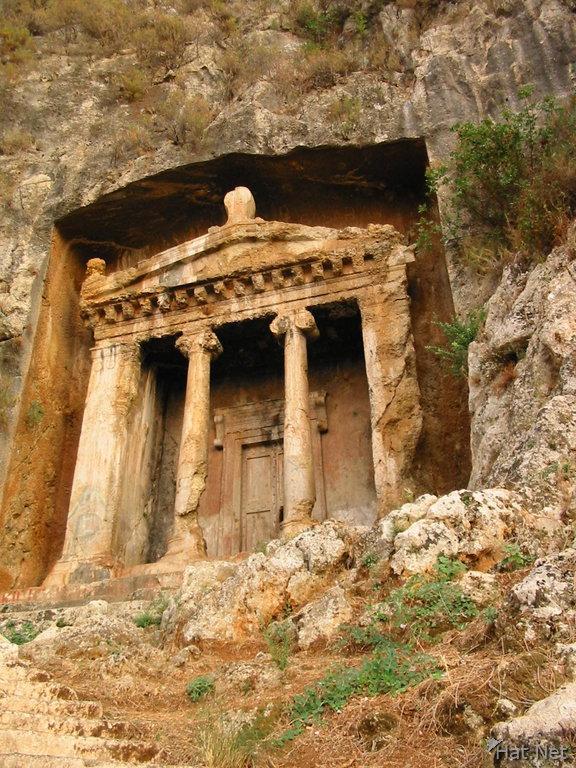 amyntas tomb, tomb of amyntas : 100 Thousand Photos