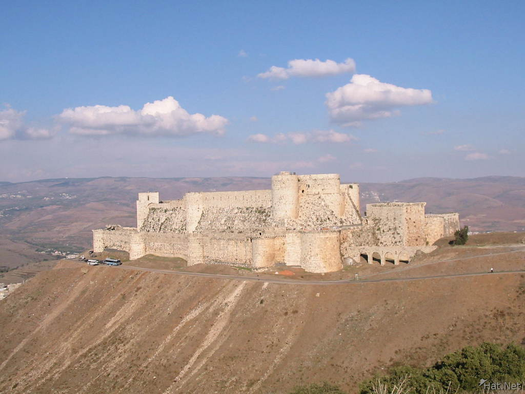 crusader castle, highlights of syria : 100 Thousand Photos