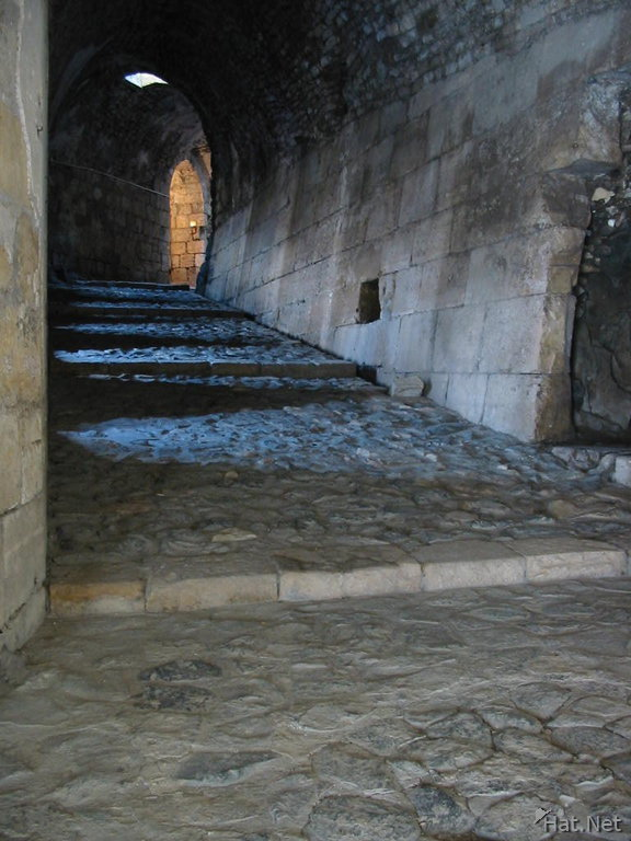 the path to the crusader castle