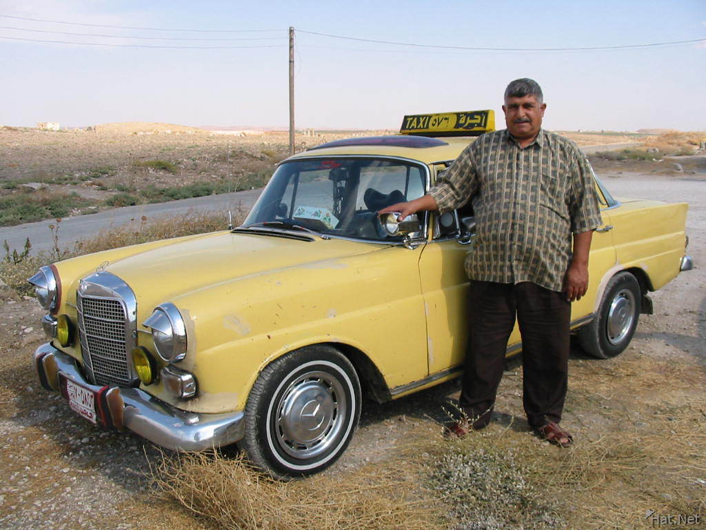 omar and his 1967 mercede