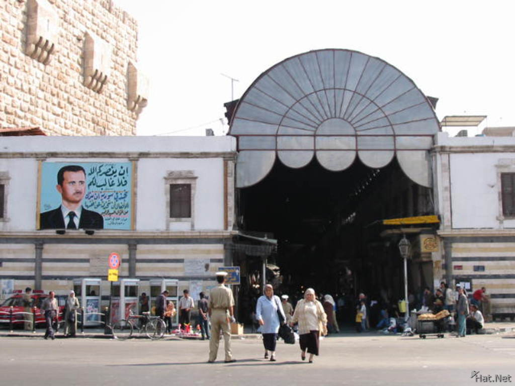 market of damascus