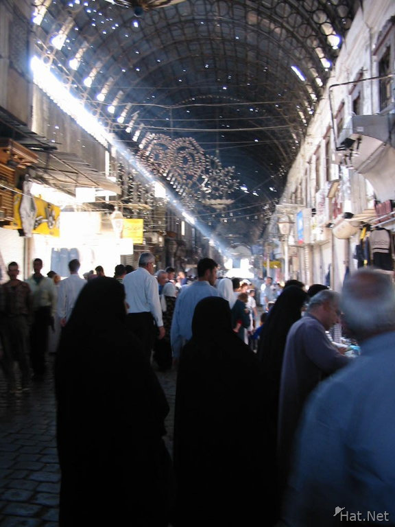 market at the old city