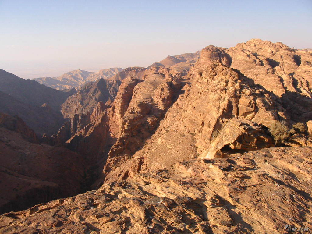 looking west at sinai