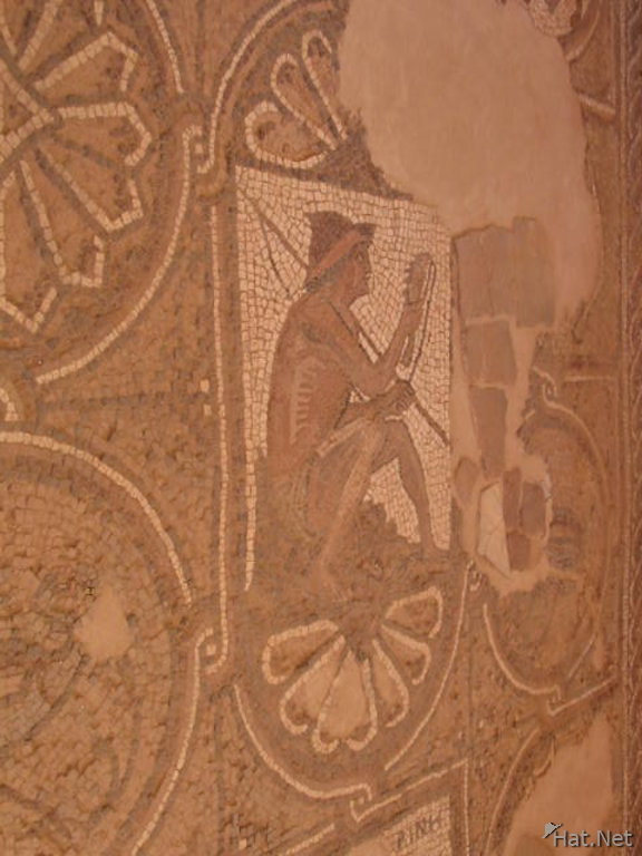 mosaic at the church