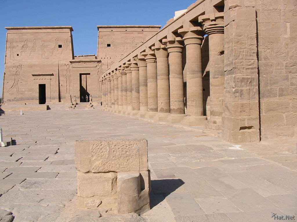 the greate temple of philae