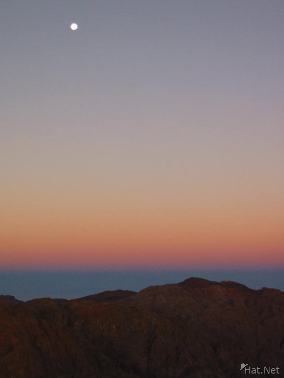 moon set of sinai