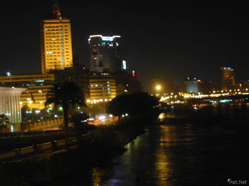 nile at night