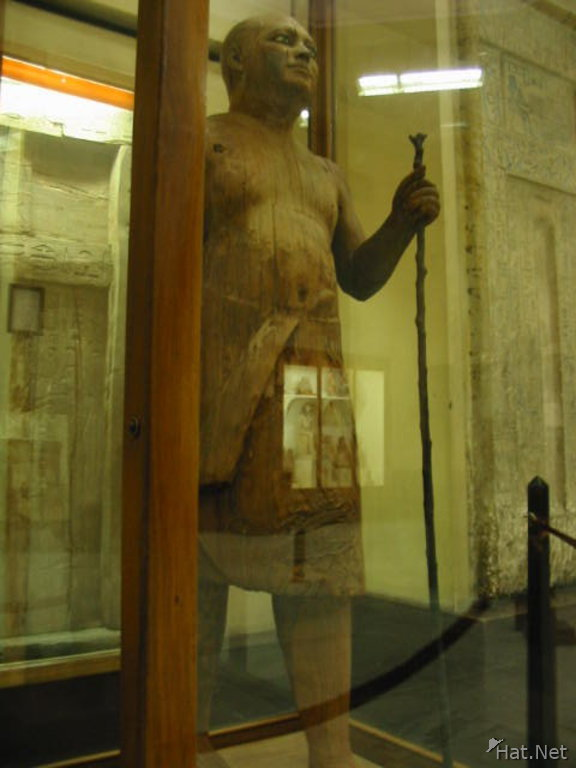 wooden statue of ka-aper
