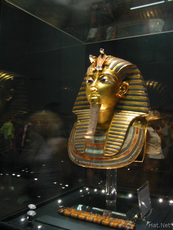 death mask of tut