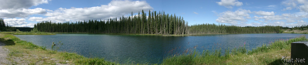 cassiar highway lake