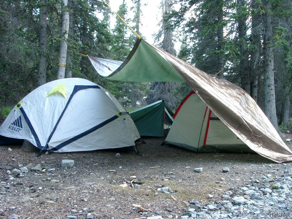 our camps near kluane lake