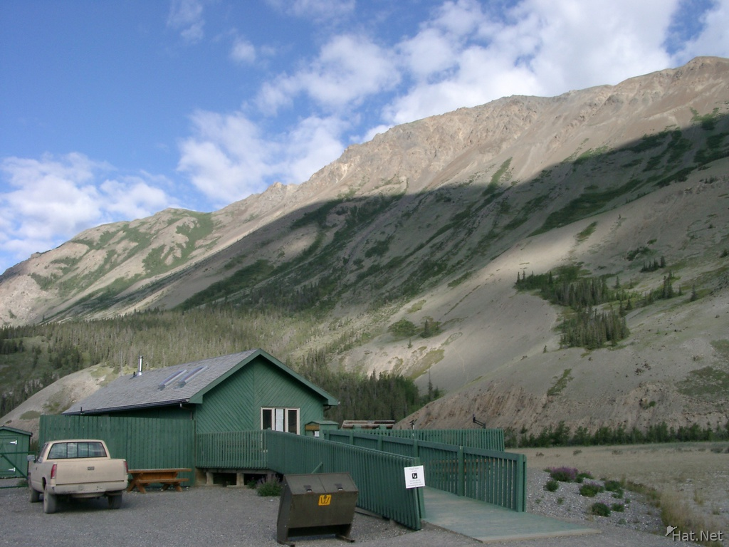 visitor centre near sheep mountain