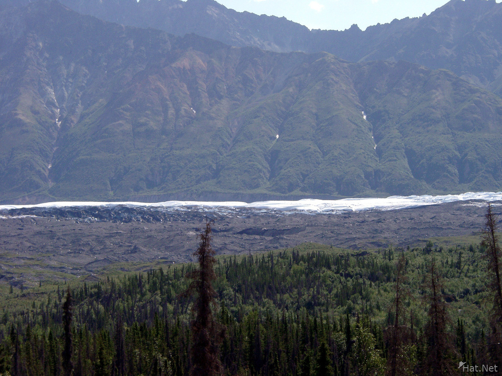 another flat glacier