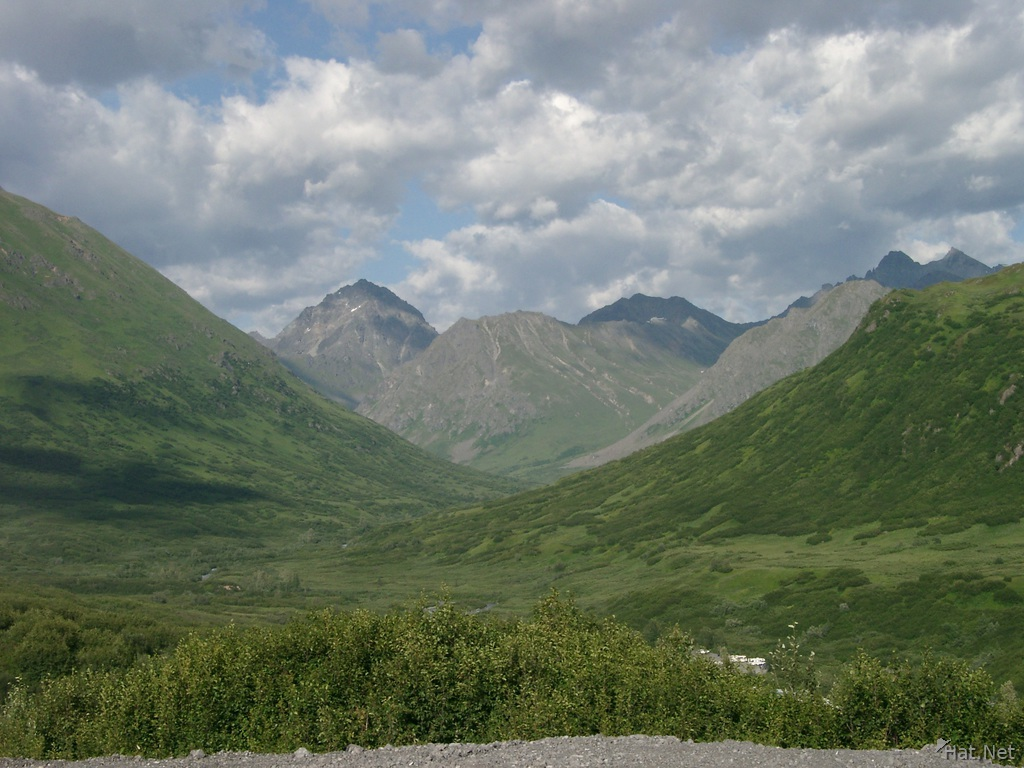 scenery of hatcher pass