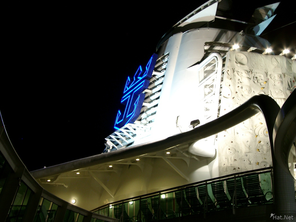 royal caribbean at nights