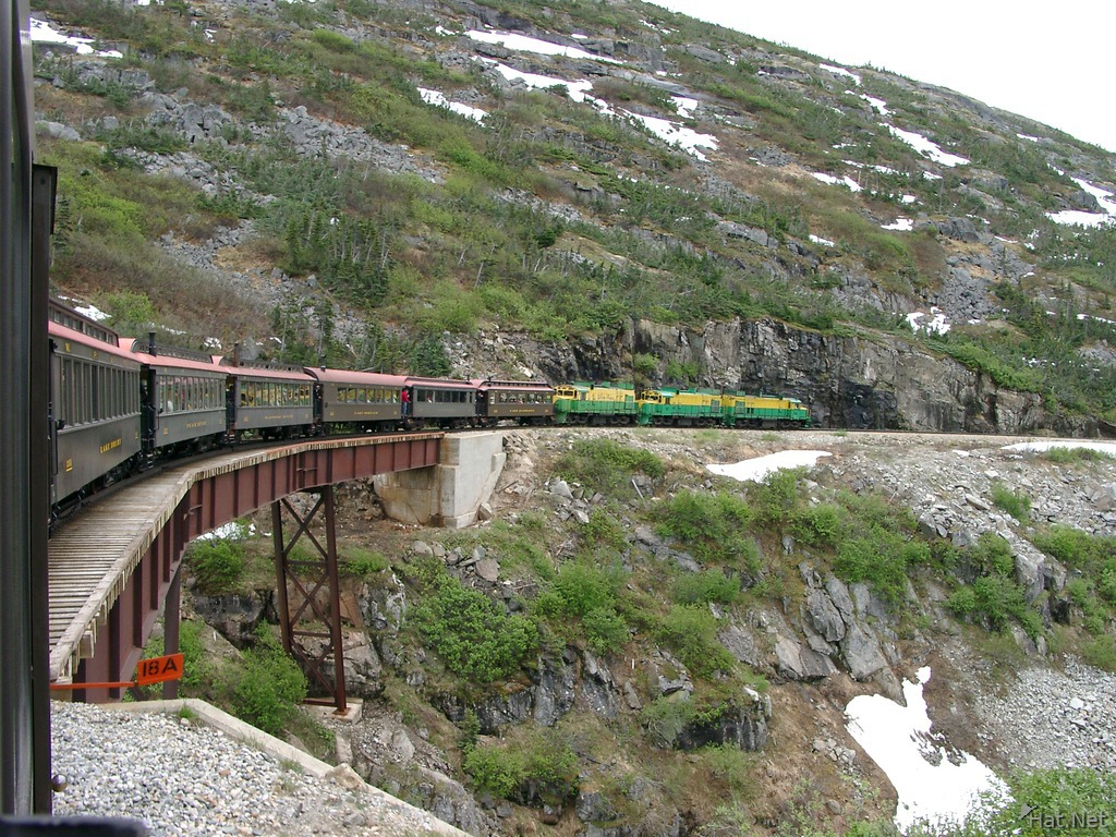 white pass train