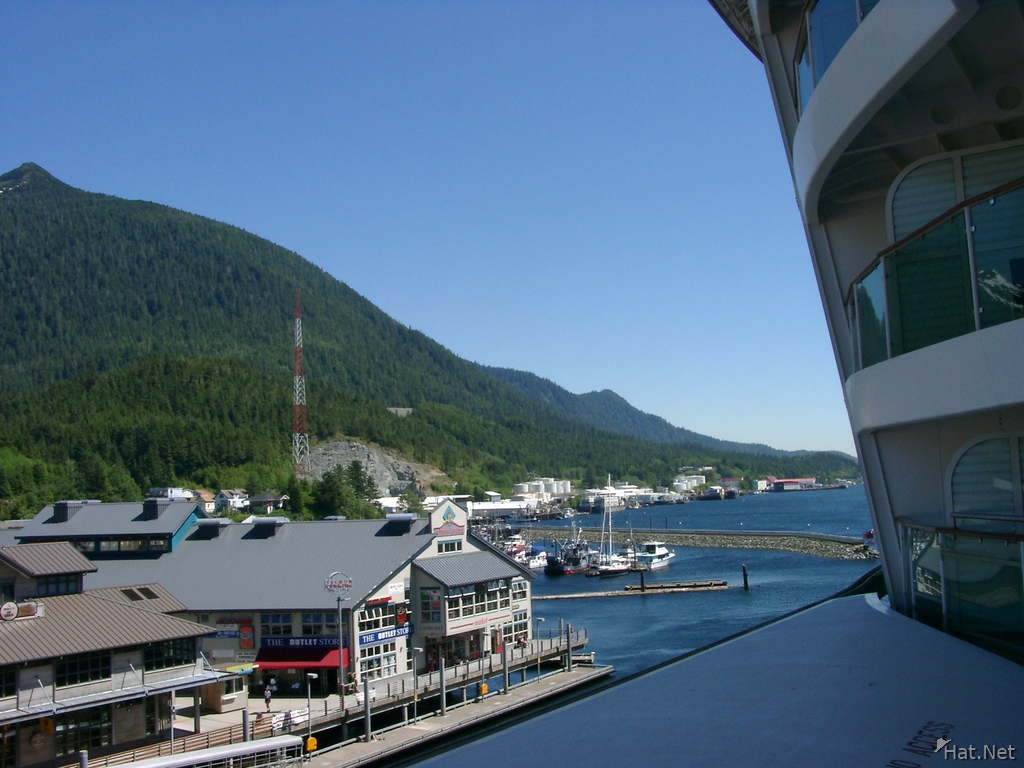 ketchikan from cruise