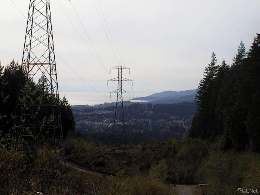 the power line trail
