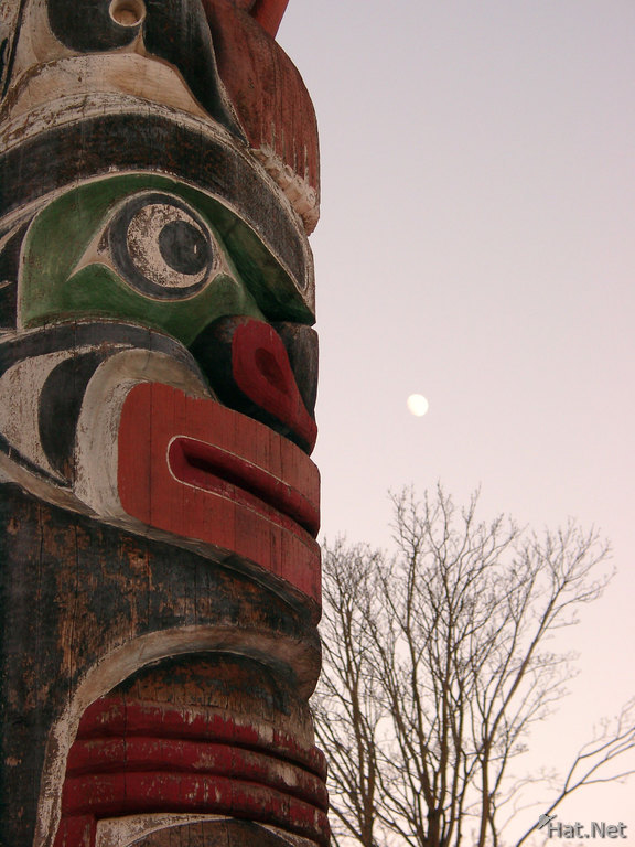 totem and the moon