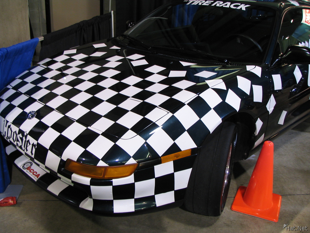 checker car