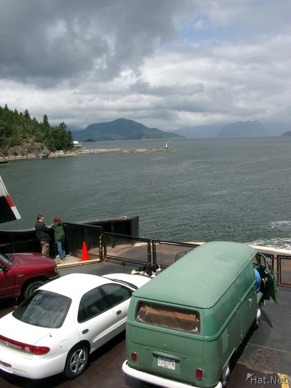 leaving horseshoe bay
