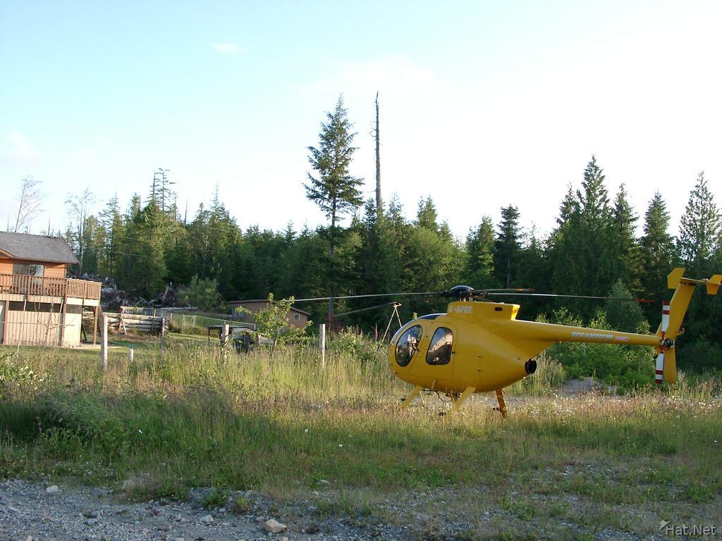 logging helicopter