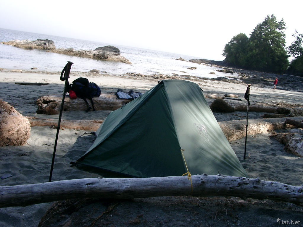 camp at thrasher cove