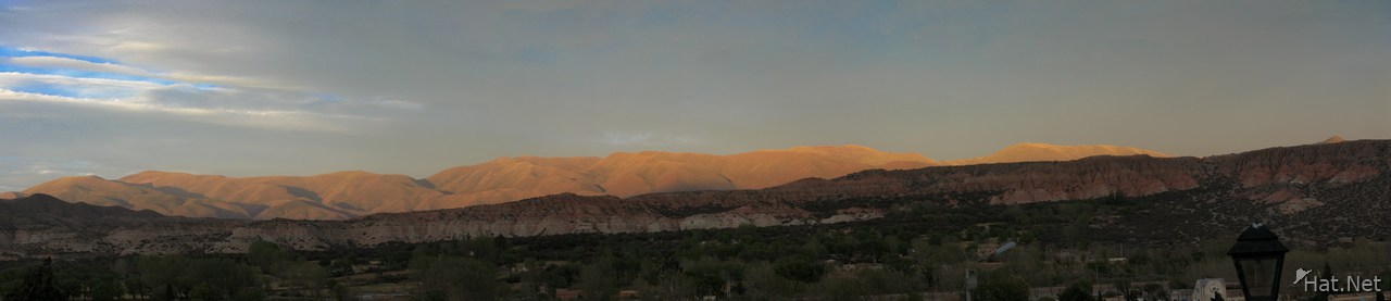humahuaca sunset