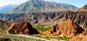 seven color trail Purmamarca, Northern Salta Provinces, Argentina, South America