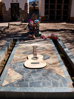guitar tomb Humahuaca, Jujuy and Salta Provinces, Argentina, South America