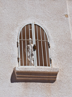 christ in prison Humahuaca, Jujuy and Salta Provinces, Argentina, South America