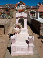 pink tomb Humahuaca, Jujuy and Salta Provinces, Argentina, South America