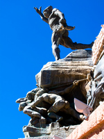 hero of independence Humahuaca, Jujuy and Salta Provinces, Argentina, South America