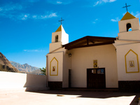 condor trail church Iruya, Humahuaca, Jujuy and Salta Provinces, Argentina, South America