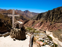 view--iruya cross Tilcara, Iruya, Jujuy and Salta Provinces, Argentina, South America