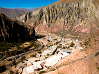 iruya houses Tilcara, Iruya, Jujuy and Salta Provinces, Argentina, South America