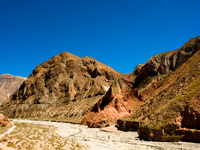 dry valley Iruya, Jujuy and Salta Provinces, Argentina, South America