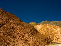 old mountain Iruya, Jujuy and Salta Provinces, Argentina, South America