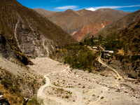 road to isidro Iruya, Jujuy and Salta Provinces, Argentina, South America