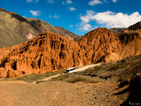 purmarmarca view Purmamarca, Northern Salta Provinces, Argentina, South America