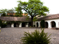 salta history museum courtyard Salta, Jujuy and Salta Provinces, Argentina, South America