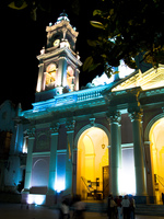 catedral at night Puerto Igua�u, Salta, Misiones, Salta and Jujuy Province, Argentina, South America