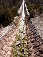 aqueduct Tilcara, Jujuy and Salta Provinces, Argentina, South America