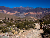 diablo hiker Tilcara, Jujuy and Salta Provinces, Argentina, South America
