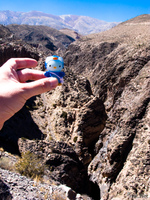 hello kitty in garganta del diablo Tilcara, Jujuy and Salta Provinces, Argentina, South America