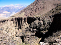 diablo clifface Tilcara, Jujuy and Salta Provinces, Argentina, South America