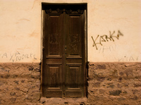 karka doors Tilcara, Jujuy and Salta Provinces, Argentina, South America