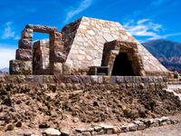 the monument Purmamarca, Tilcara, Jujuy and Salta Provinces, Argentina, South America