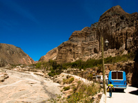 transport--bus from tilcara to iruya Tilcara, Iruya, Jujuy and Salta Provinces, Argentina, South America